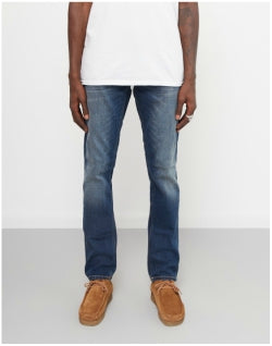 NUDIE JEANS CO Grim Tim Revelation Jeans Blue Mens