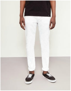 NUDIE JEANS CO Lean Dean Clean White Jeans