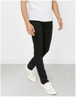 NUDIE JEANS CO Lean Dean Dry Ever Jeans Black Mens