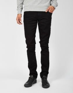 NUDIE JEANS CO Mens Black Jeans
