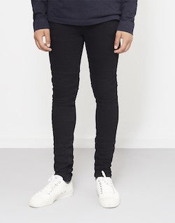 NUDIE JEANS CO Skinny Lin Jeans Black mens