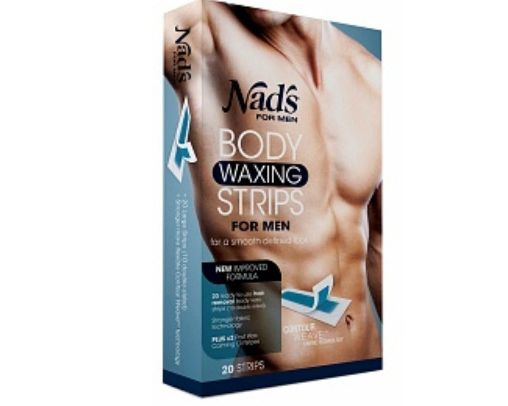 Nads Body Waxing Strips for Men