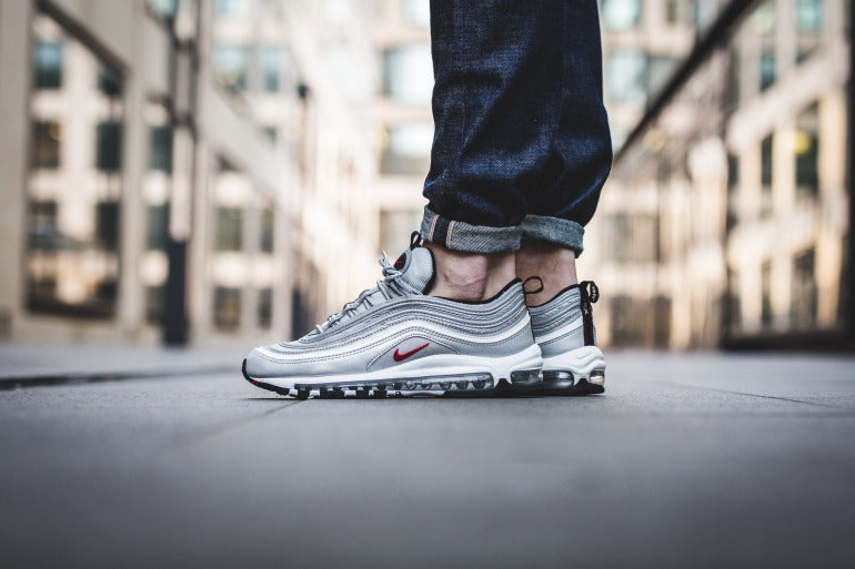 sale retailer d7fef f42e9 Nike Air Max 97 on foot pic
