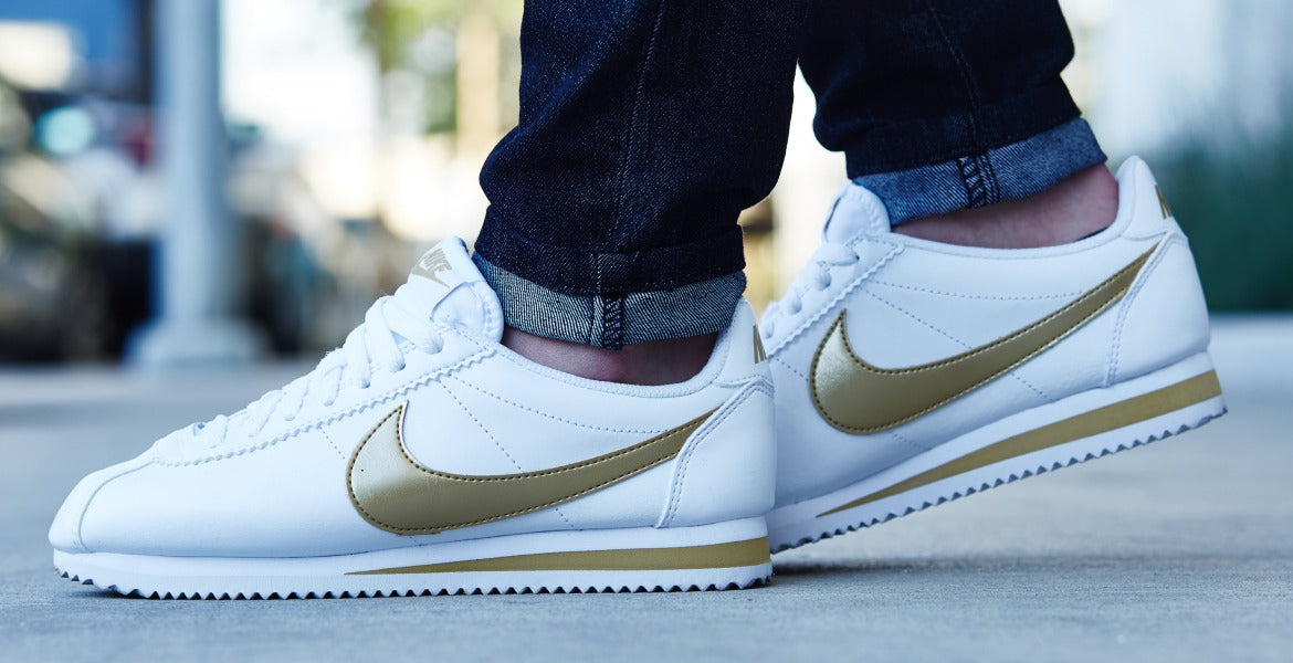 Nike Cortez On Foot