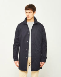 ONLY & SONS Neur Mens Trench Coat Navy