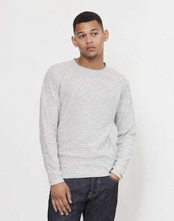 ONLY & SONS Satre New Crew Neck Grey
