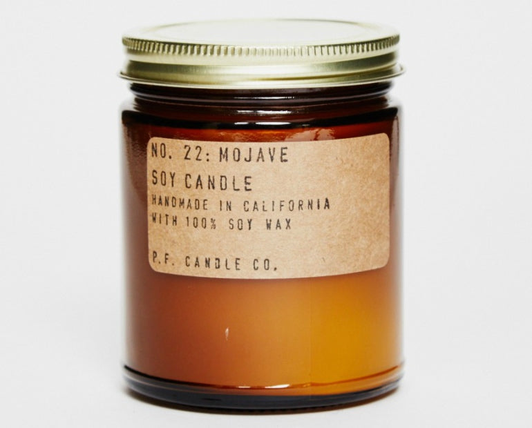 P.F. CANDLE CO.No. 22 Mojave 7.2 oz Brown