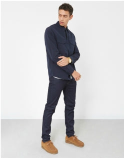 PAUL SMITH Nylon Shirt Jacket Navy Mens