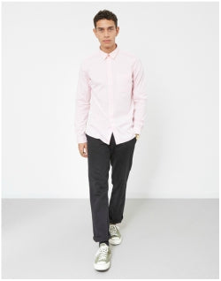 PAUL SMITH Slim Fit Long Sleeve Shirt Light Pink Mens