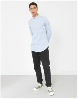 PAUL SMITH Tailored Long Sleeve Shirt Light Blue Mens