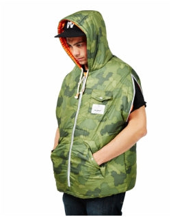 POLER Convertible Napsack Green Mens