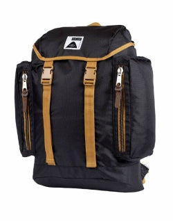 POLER Travel Mens Rucksack Black