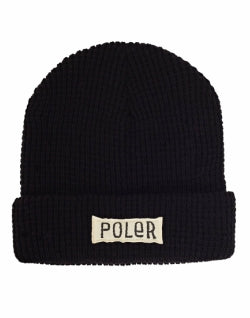 POLER Workerman Beanie Black mens