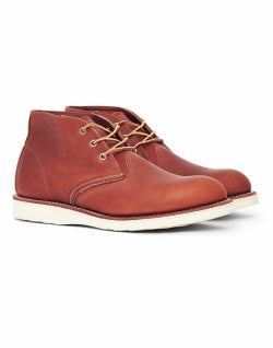 RED WING Heritage Work Chukka Leather Tan for Men