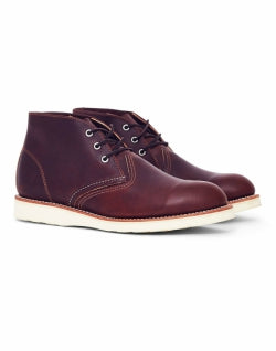 RED WING Heritage Work Chukka Brown for Men
