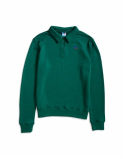 RUSSELL ATHLETIC Comets Half Zip Sweater Green Mens