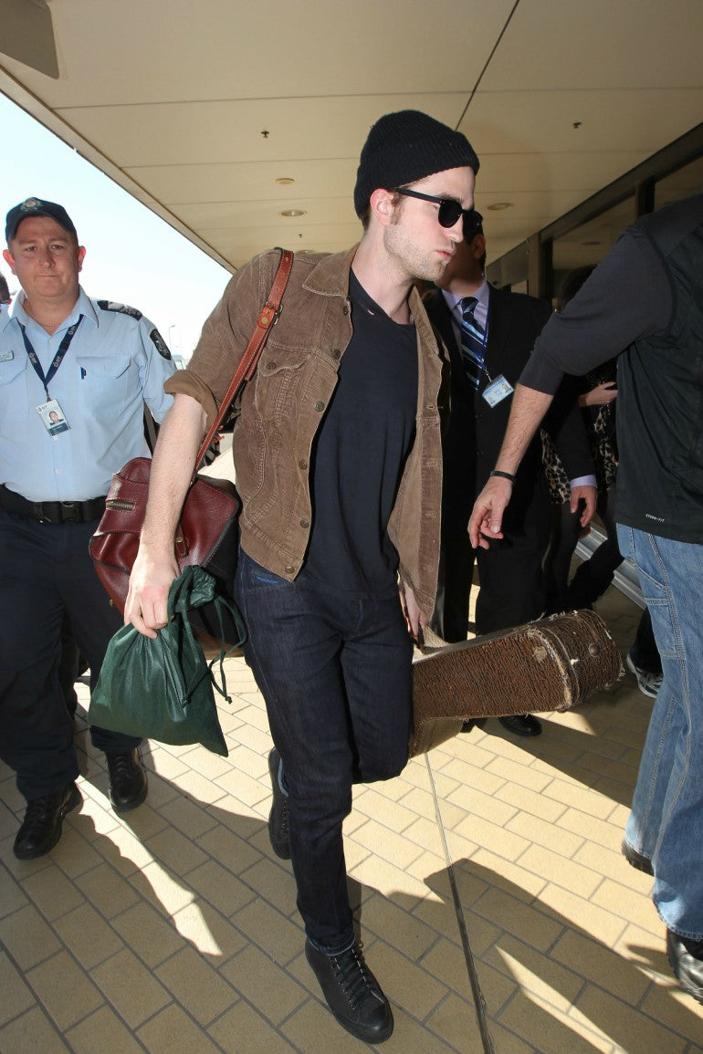 Robert-Pattinson-corduroy-shirt-black-jeans