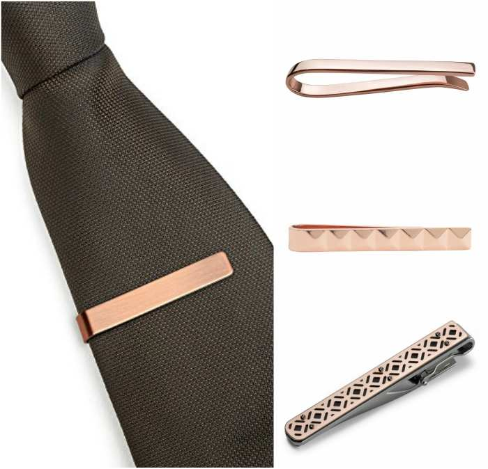 Rose gold tie pin how to wear a tie pin