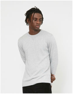 SATURDAYS NYC Everyday Classic Sweater Grey Mens