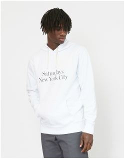 SATURDAYS NYC Miller Standard Hoodie White Mens