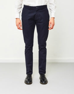 SELECTED Carl Mens Trousers Navy