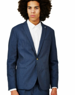 SELECTED Nolan Blazer Light Blue mens