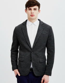 mens SELECTED Noon Blazer Grey