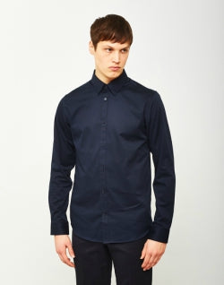 SELECTED Travis Belfast Shirt Navy mens