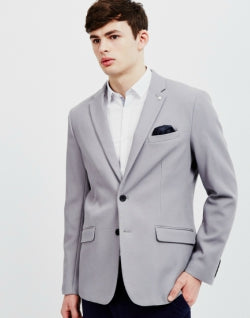 SELECTED Willis Blazer Grey mens