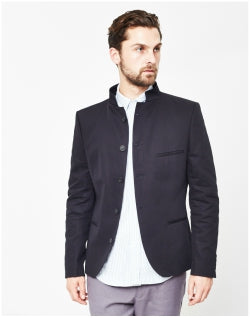SELECTED Zero Short Clive Blazer Navy ID Mens