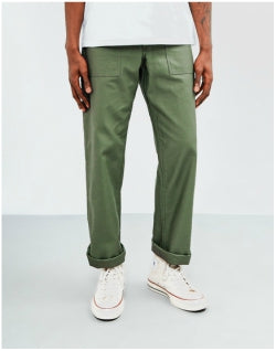 STAN RAY Mens OG 4 Pocket Fatigue Pant 8.5oz Green