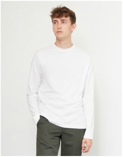 SUNSPEL Long Sleeve T-Shirt White Mens