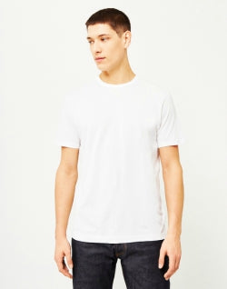 SUNSPEL Mens Q82 Short Sleeve T-Shirt White