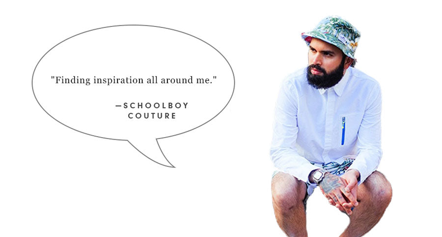 Schoolboy Couture Quote