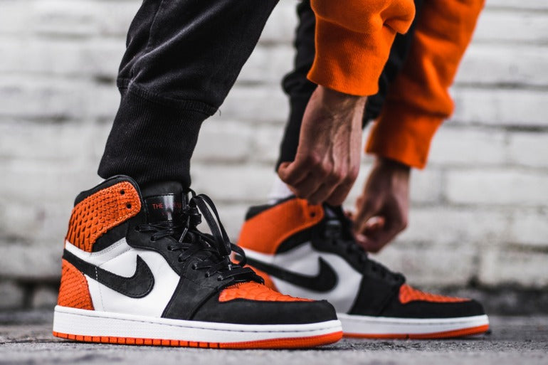 Shattered Backboard on foot