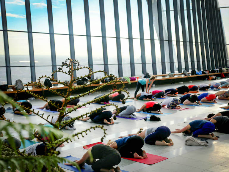 Sky-Garden-London-Sunrise-Yoga-Mens-Healthy-Lifestyle