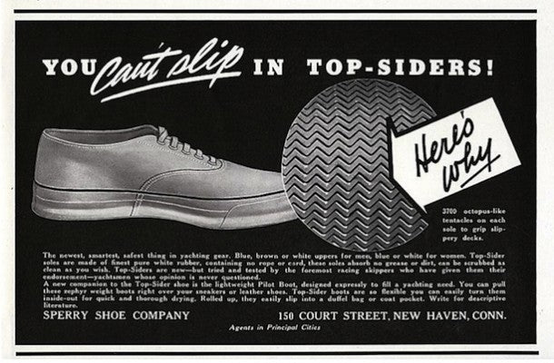 sperry top sider history