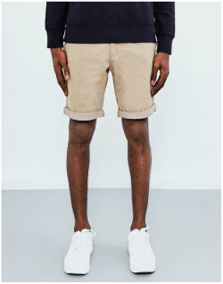 THE IDLE MAN Chino Short Tan Mens