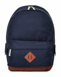 THE IDLE MAN Mens Heritage Backpack Navy