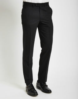 THE IDLE MAN Mens Tuxedo Trousers in Slim Fit