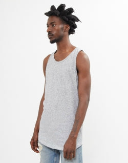 THE IDLE MAN Neppy Vest Grey mens