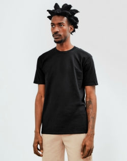 THE IDLE MAN Premium Classic T-Shirt Black mens