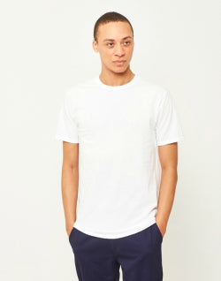 THE IDLE MAN Premium Mens Classic T-Shirt White