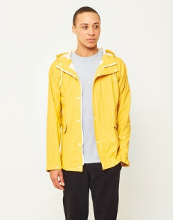 THE IDLE MAN Rain Coat Yellow mens
