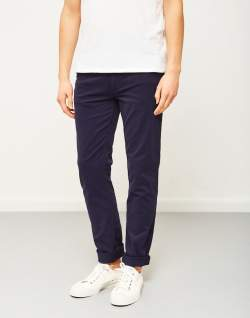 THE IDLE MAN Slim Fit Chino Navy