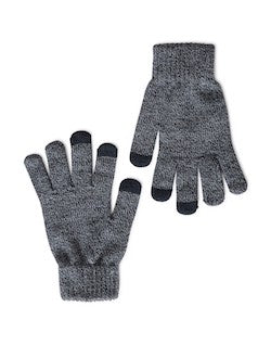 THE IDLE MAN Smart Touch Gloves Navy