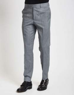 the idle man suit trousers in skinny fit grey mens