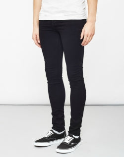 THE IDLE MAN Super Skinny Jeans Black mens