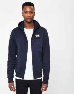 THE NORTH FACE Black Label Box Logo Hoodie Navy mens