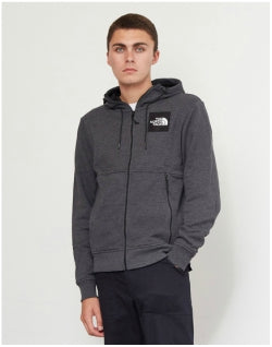 THE NORTH FACE Fine Full Zip Hoodie Dark Grey Mens